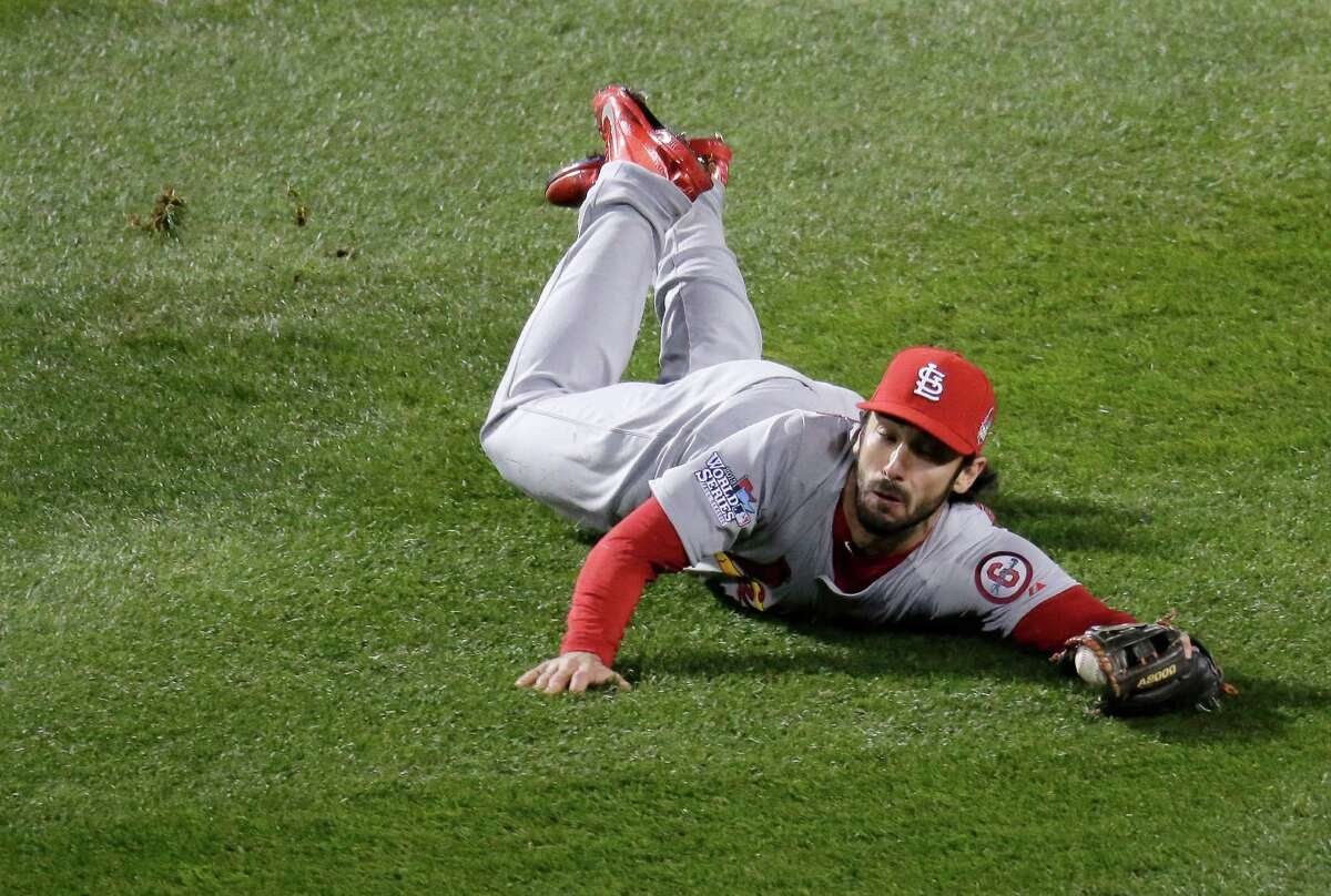 St. Louis Cardinals 2B Matt Carpenter: An All-Star in his third season, the former TCU and Fort Bend Elkins star hit .318 and led the majors with 199 hits, 126 runs and 55 doubles. His game-tying sacrifice fly set up two Red Sox errors in Game 2 that gave St. Louis the victory.