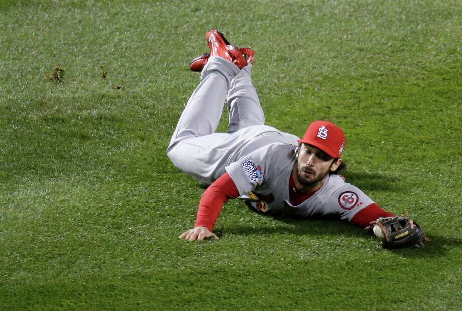 St. Louis Cardinals 2B Matt Carpenter: An All-Star in his third season, the former TCU and Fort Bend Elkins star hit .318 and led the majors with 199 hits, 126 runs and 55 doubles. His game-tying sacrifice fly set up two Red Sox errors in Game 2 that gave St. Louis the victory. Photo: Charlie Riedel, Associated Press / AP