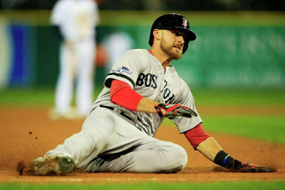 Boston Red Sox 3B Will Middlebrooks: Second-year infielder, a fifth-round pick in 2007 out of Liberty Eylau, has 32 homers and 103 RBIs in 169 career games. He hit .174 in the first two rounds, so he didn't play in the first two games. Photo: Jamie Squire, Getty Images / 2013 Getty Images