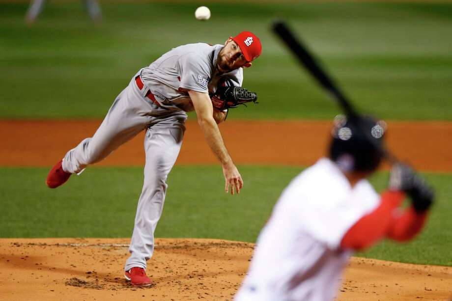 St. Louis Cardinals SP Michael Wacha: Rookie out of Texas A&M and Texarkana is now a combined 8-1 on the season and postseason after a Game 2 victory. He's 4-0 with a 1.00 ERA in four postseason starts. Photo: Jared Wickerham, Getty Images / 2013 Getty Images