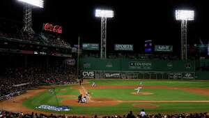 BOSTON, MA - OCTOBER 24:  A general view of Game Two of the 2013 World Series between the Boston Red Sox and the St. Louis Cardinals at Fenway Park on October 24, 2013 in Boston, Massachusetts.