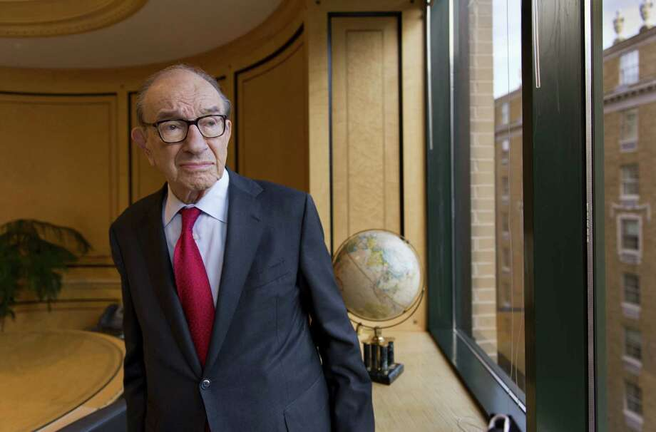 "Alan Greenspan, who served as Federal Reserve chairman for 181/2 years, writes about the difficulty of predicting economic problems in his new book, ""The Map and the Territory."" Greenspan, 87, now works as a private consultant. Photo: J. Scott Applewhite / Associated Press"
