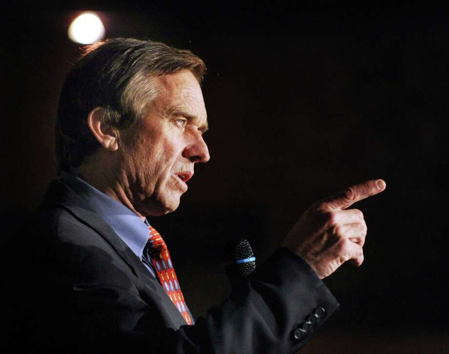 Robert F. Kennedy Jr., in Norwalk, Conn. in 2012. Photo: Bob Luckey / Greenwich Time