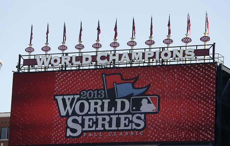 Busch Stadium, where the Cardinals are 5-1 this postseason, will test the Red Sox for the next three World Series games. Photo: Charlie Neibergall, Associated Press