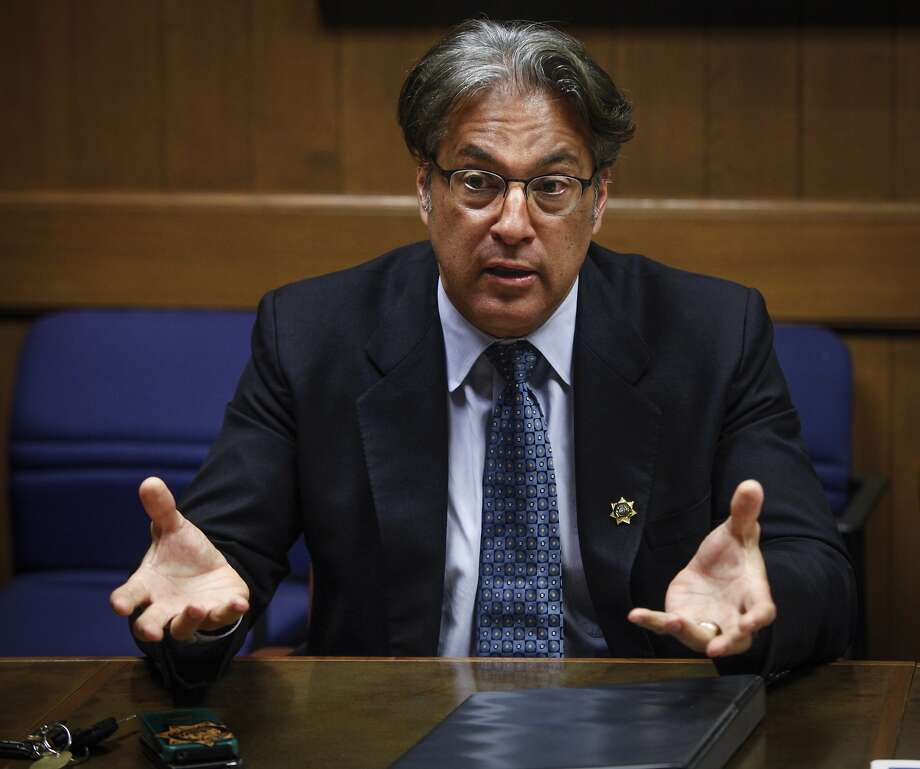 Sheriff Ross Mirkarimi talks to the Chronicle editorial board about his plan to rebuild the decrepit city jail on Wednesday, Aug. 28, 2013 in San Francisco, Calif. Photo: Russell Yip, The Chronicle