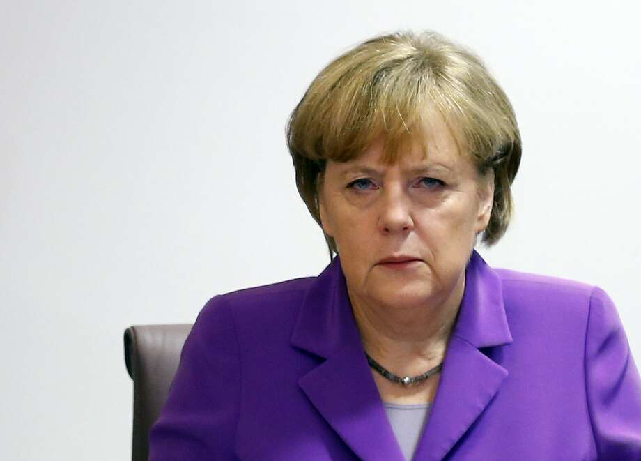 5. Angela Merkel,Chancellor of Germany Photo: YVES HERMAN, Staff / AFP