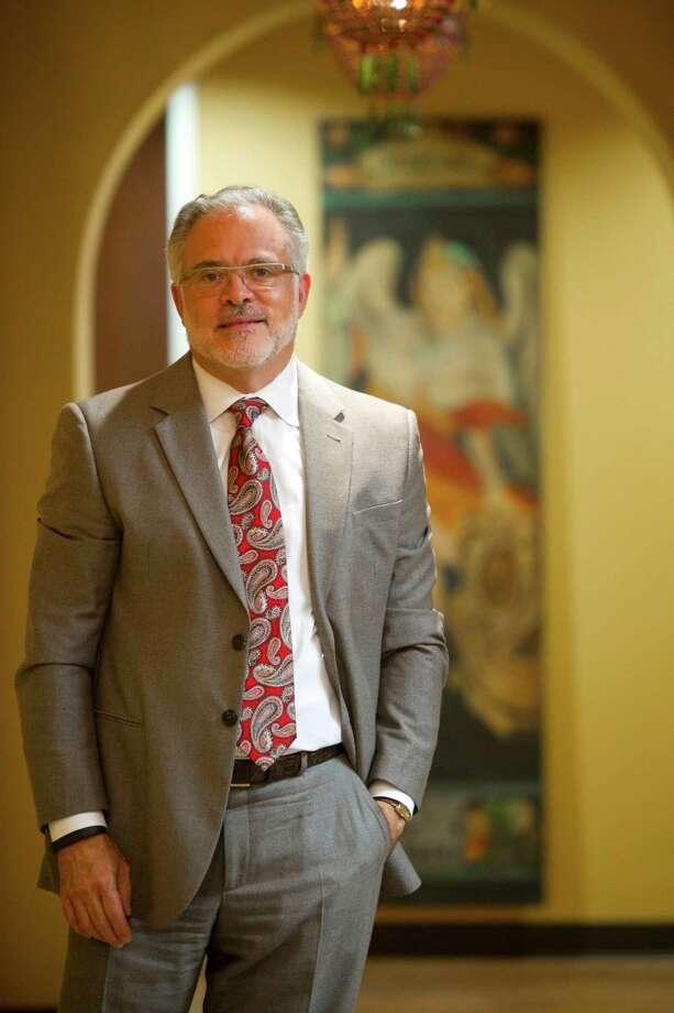Alex López Negrete's marketing agency specializes in Hispanic audiences. Photo: Marie D. De Jeséºs, Staff / © 2013 Houston Chronicle