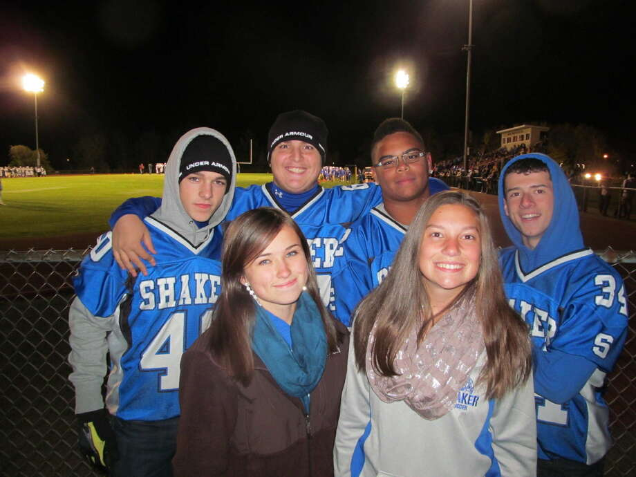 Were you Seen at the Shaker vs. Shenendehowa football game at Shaker High School in Colonie on Friday, Oct. 25, 2013? Photo: Kristi Gustafson Barlette/Times Union