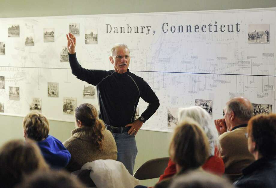 Connecticut State Archaeologist Nicholas Bellantoni speaks about vampire folklore beliefs in historic Connecticut at the Danbury Historical Society in Danbury, Conn. on Saturday, Oct. 26, 2013. Photo: Tyler Sizemore / The News-Times