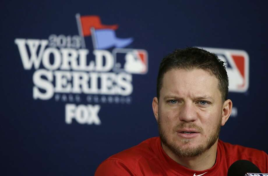 Boston's Jake Peavy says postseason teams have to stay hot longer to win a title. Photo: Charlie Neibergall, Associated Press