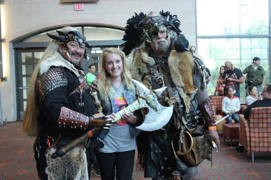 Fans visit the Convention Center for Alamo City Comic Con on Saturday, Oct. 26. 2013. Photo: Libby Castillo / For MySA.com