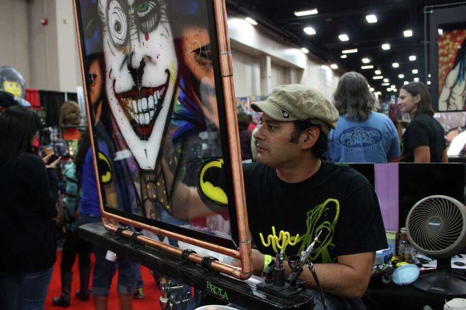 Fans visit the Convention Center for Alamo City Comic Con on Saturday, Oct. 26. 2013. Photo: Libby Castillo / For MySA.com