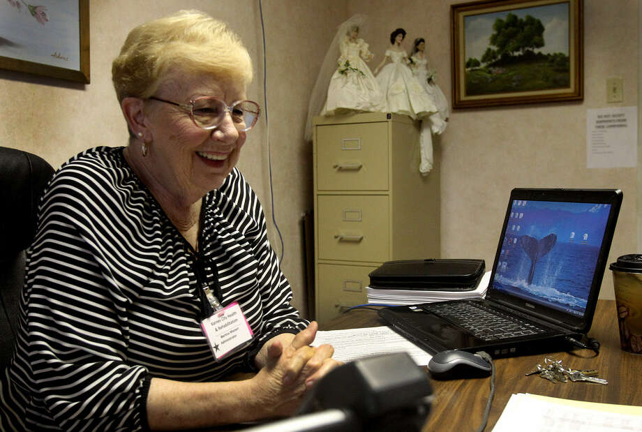 "Martina Wishert says of keeping a staff, ""You're so happy. You've got all the posts filled, and then someone says, 'I'm leaving.'"" Photo: John Davenport / San Antonio Express-News"