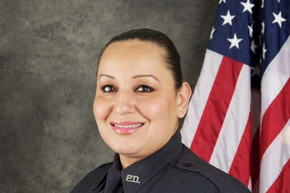 Stafford Police Officer Ann Carrizales is recovering after being shot twice early Saturday morning during a traffic stop on Murphy Road.