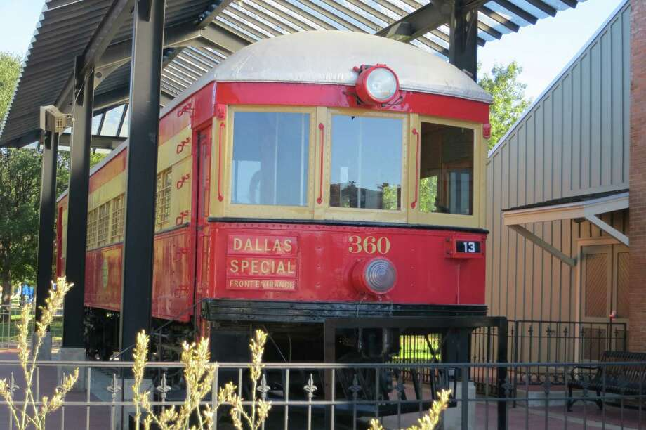 Car 360, which was rescued from a Waxahachie farm, is now on display at the Interurban Museum in Plano. Photo: Joe Holley, Houston Chronicle / Houston Chronicle