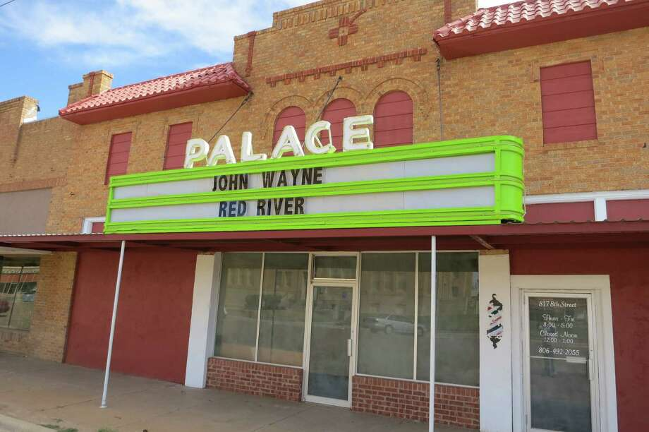 It's been a long time since Paducah's Palace Theater showed a first-run movie. Drive through Paducah, in northwest Texas, and what you see is a dying town. The 1930s-era Cottle County Courthouse is hemmed in on all sides by abandoned brick buildings, several of them collapsed in on themselves. It wasn't that long ago that the once-sturdy structures housed thriving cafes, drug stores, a couple of department stores, a variety store, hardware stores, a large hotel. Photo: Joe Holley, Houston Chronicle / Houston Chronicle