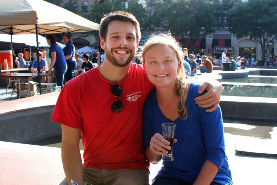 Sugar Land Flying Saucer's BeerFeast celebrates its second year with more than 40 breweries and 60 craft beers. The 21-and-older event drew crowds from 1 to 7 p.m. Saturday, Oct. 26, 2013. Visit the official website for more info. http://www.beerfeast2013.com/sugarland Photo: Jorge Valdez / For The Chronicle