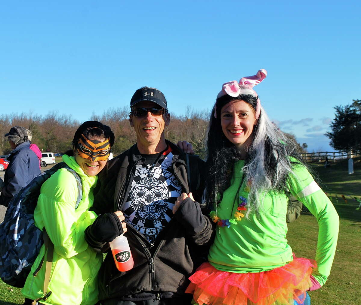 Were you Seen at the Hairy Gorilla Half Marathon and Squirrely Six Mile Trail Run at Thacher State Park on Sunday, Oct. 27, 2013?