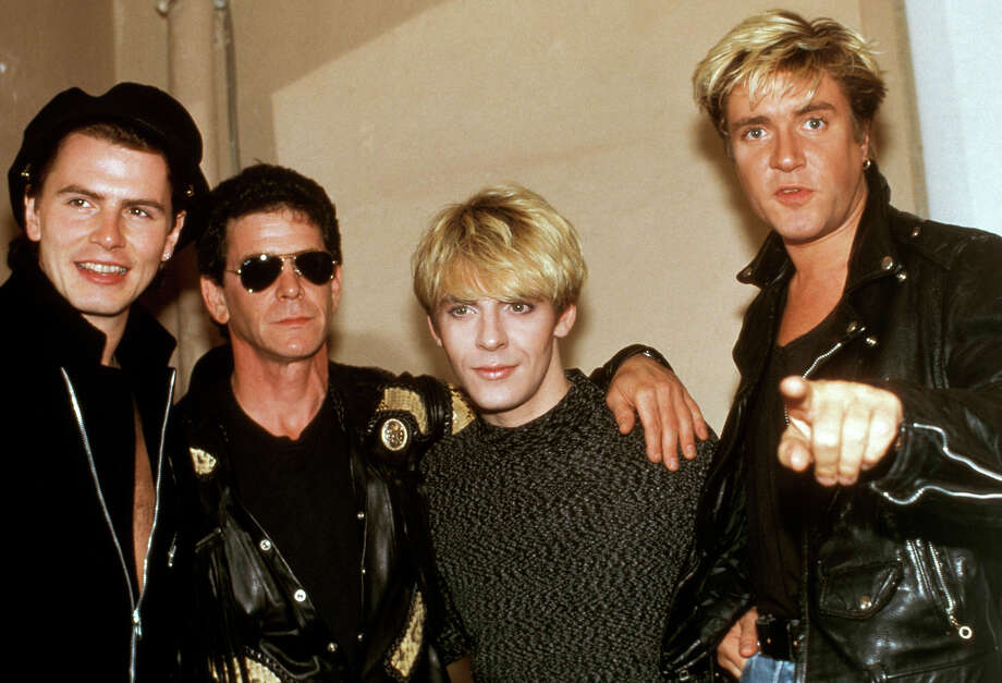 John Taylor, Lou Reed, Nick Rhodes & Simon Le Bon, 1987. Photo: Ebet Roberts, Redferns / Redferns