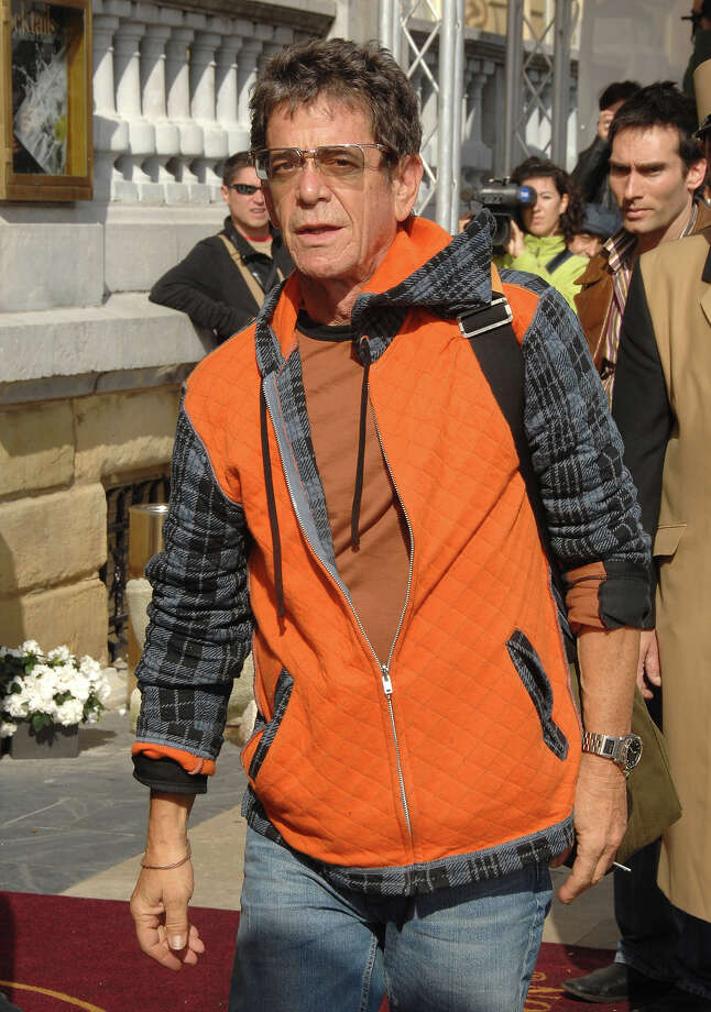 Lou Reed arrives to Maria Cristina Hotel to attend 2007 edition of San Sebastian Film Festival on September 26, 2007 in San Sebastian, Spain. Photo: Lalo Yasky, WireImage / 2007 Lalo Yasky