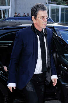 Singer Lou Reed enters Lincoln Center on March 24, 2011 in New York City. Photo: Ray Tamarra, Getty Images / 2011 Ray Tamarra