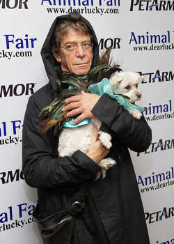 Musician Lou Reed attends the 11th annual Howloween Pet Costume benefit at Copacabana on October 26, 2011 in New York City. Photo: Michael Stewart, WireImage / 2011 Michael Stewart