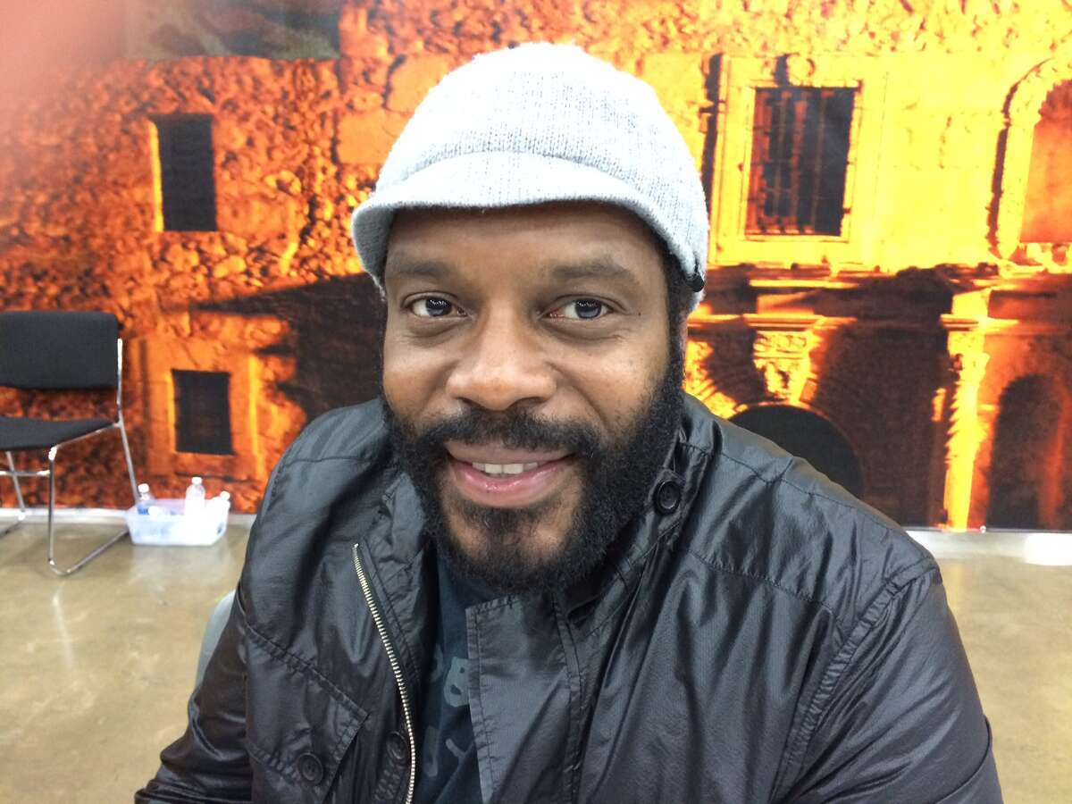 Chad Coleman during the last day of the Alamo City Comic Con 2013.