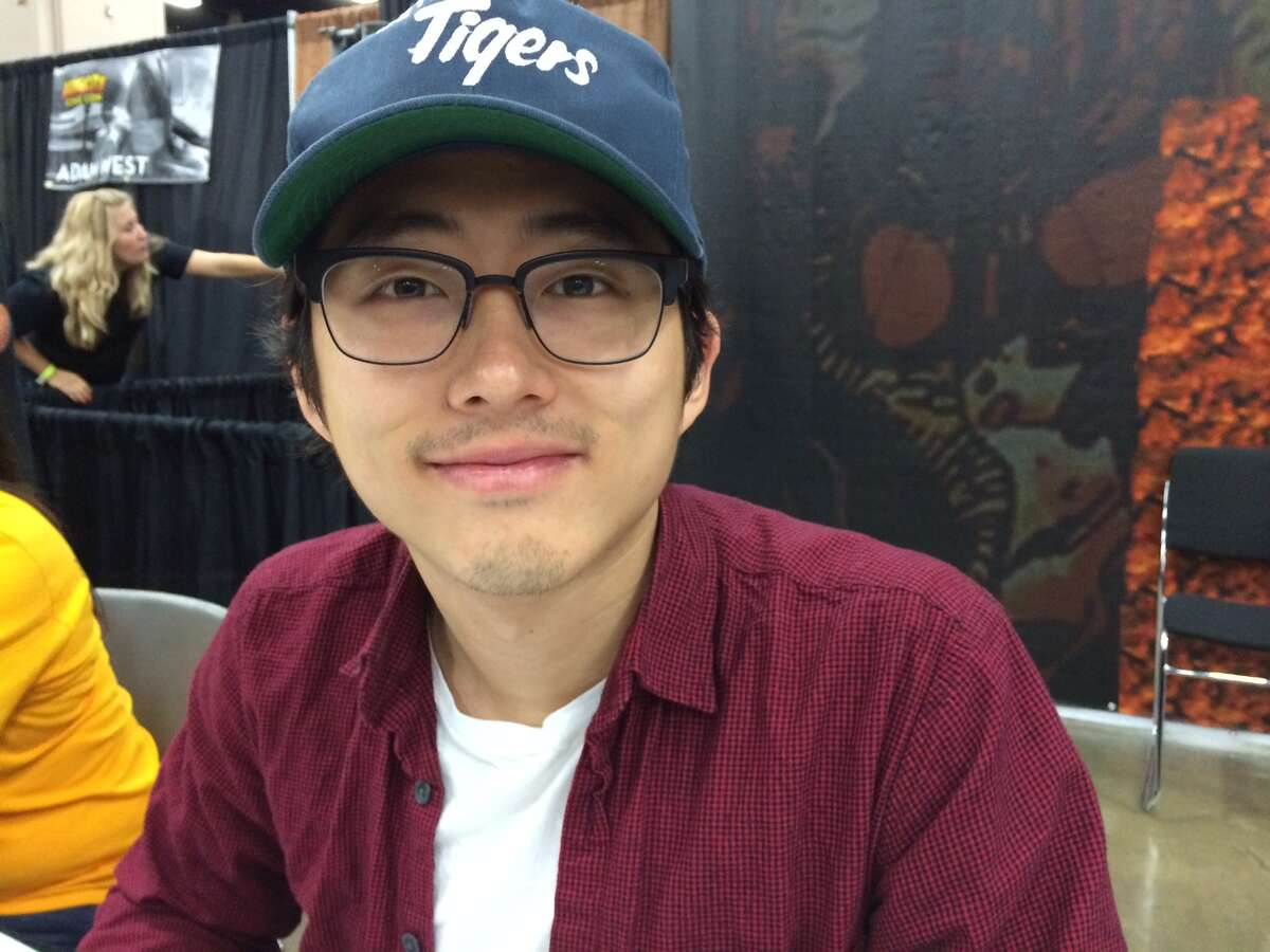 Steven Yeun during the last day of the Alamo City Comic Con 2013.