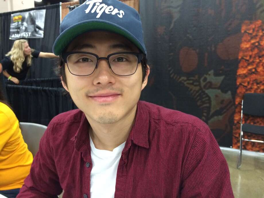 Steven Yeun during the last day of the Alamo City Comic Con 2013. Photo: René A. Guzman/Express-News
