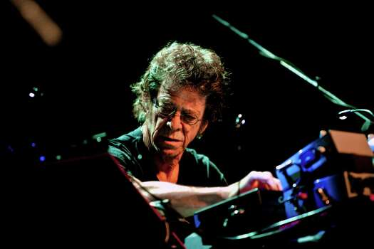 FILE -- Lou Reed performs at Gramercy Theatre in New York, April 23, 2009. Reed, a musician known for his work with The Velvet Underground, died Oct. 27, 2013. He was 71. Photo: CHAD BATKA, New York Times / NYTNS