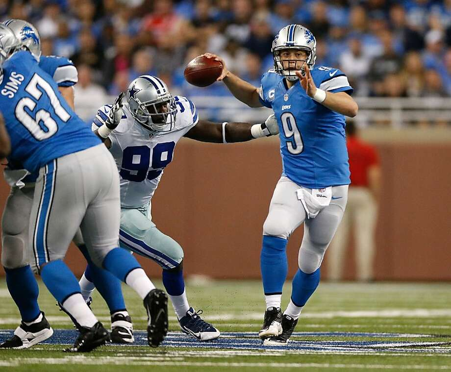 Matthew Stafford Photo: Gregory Shamus, Getty Images