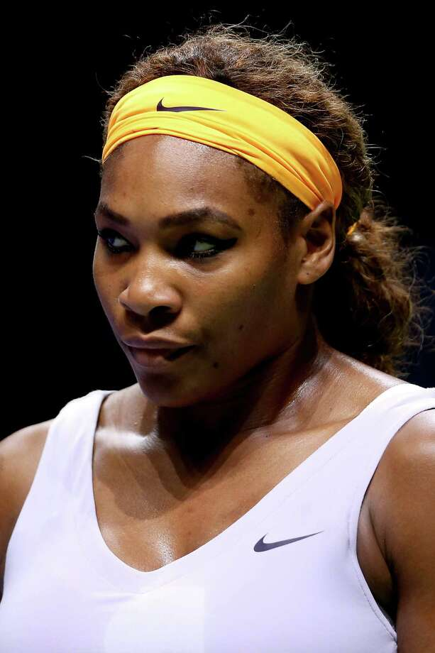 ISTANBUL, TURKEY - OCTOBER 27:  Serena Williams of the United States plays Na Li of China during the final of the TEB BNP Paribas WTA Championships at the Sinan Erdem Dome on October 27, 2013 in Istanbul, Turkey.  (Photo by Matthew Stockman/Getty Images) ORG XMIT: 181441821 Photo: Matthew Stockman / 2013 Getty Images