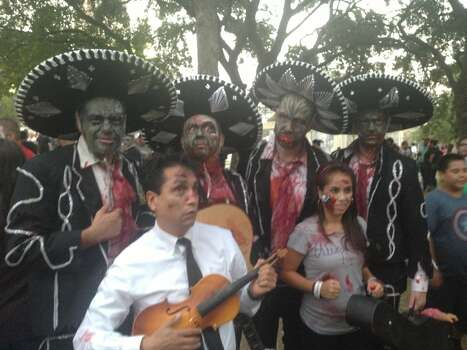 The zombie mariachis never get old. Photo: Ben Olivo