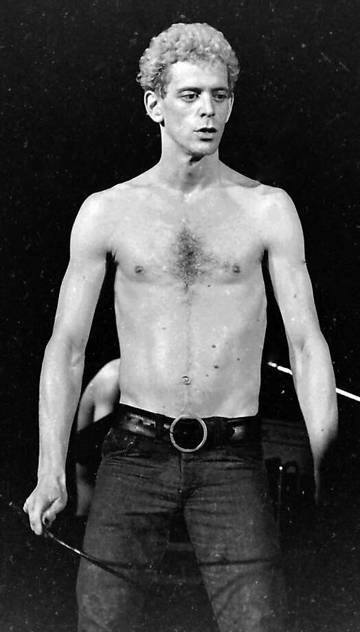 """Lou Reed performs in Milwaukee in 1974, the year Reed released the live """"Rock n Roll Animal"""" LP. Photo: Mark Goff, Associated Press"""