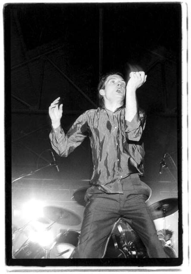 Ian Curtis, Joy Division. (July 15, 1956 - May 18, 1980) Photo: Kevin Cummins, Getty Images / 1979 Kevin Cummins