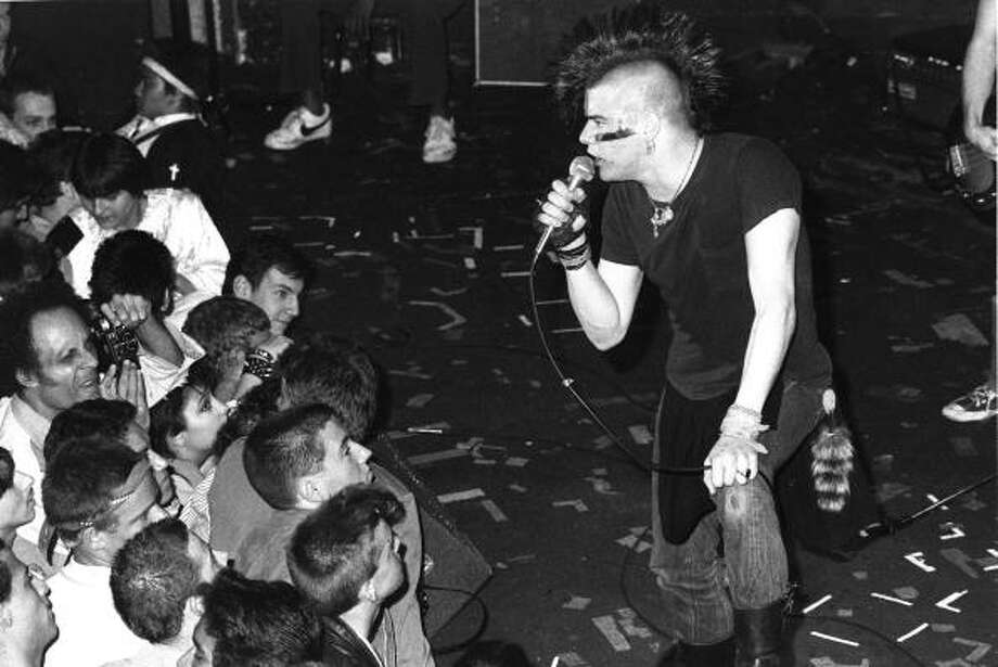 Darby Crash, The Germs and The Darby Crash Band. (Sept. 26, 1958 - Dec. 7, 1980) Photo: Michael Ochs Archives, . / Michael Ochs Archives