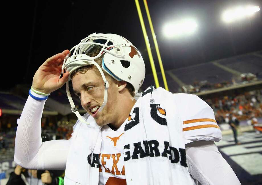 Much of the credit for Texas' turnaround goes to quarterback Case McCoy, who has helped the Longhorns win four in a row after taking over for injured David Ash. Photo: Tom Pennington, Staff / 2013 Getty Images