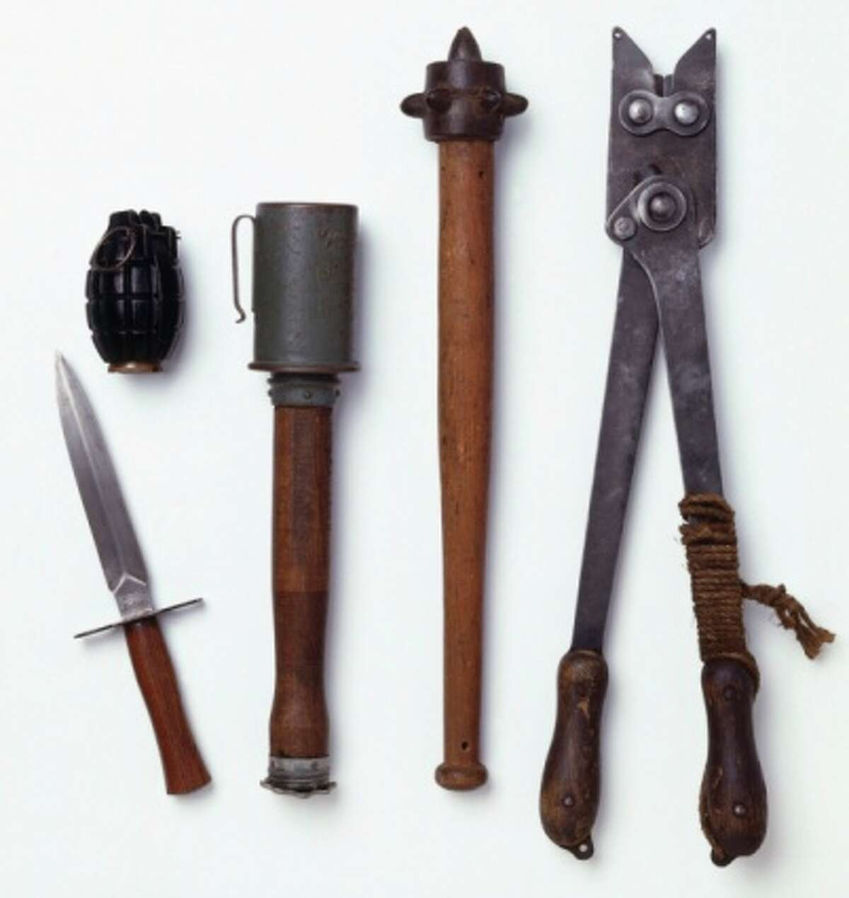 Weapons: Some of these, of course.