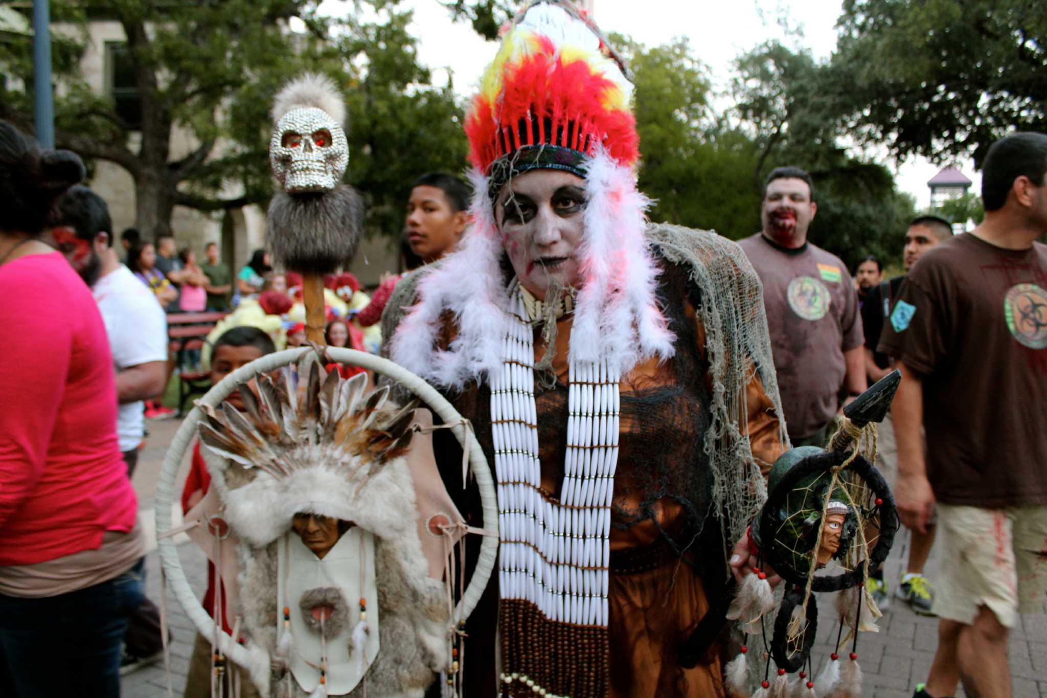 myspy san antonio zombie walk 2013 san antonio expressnews
