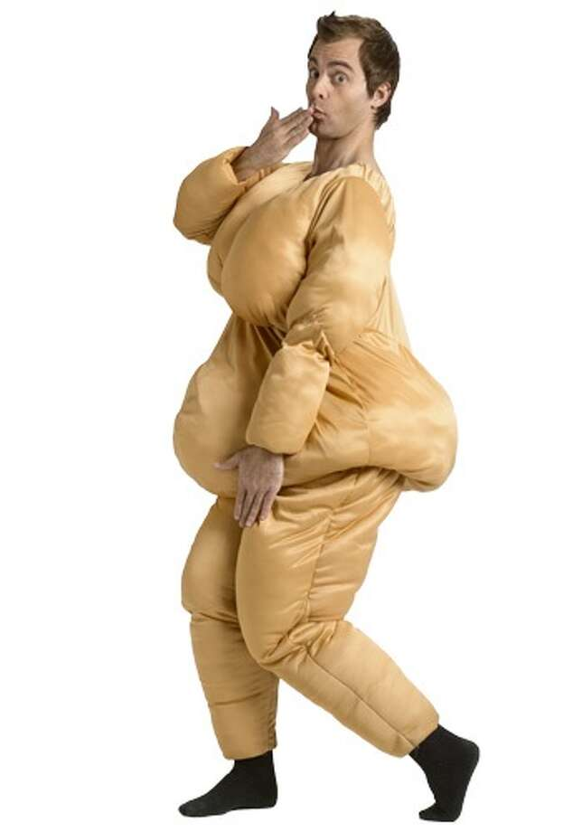 Obesity is no laughing matter. Neither is fat shaming, which belittles people with weight problems. Photo: Photo From Halloweencostume.com.