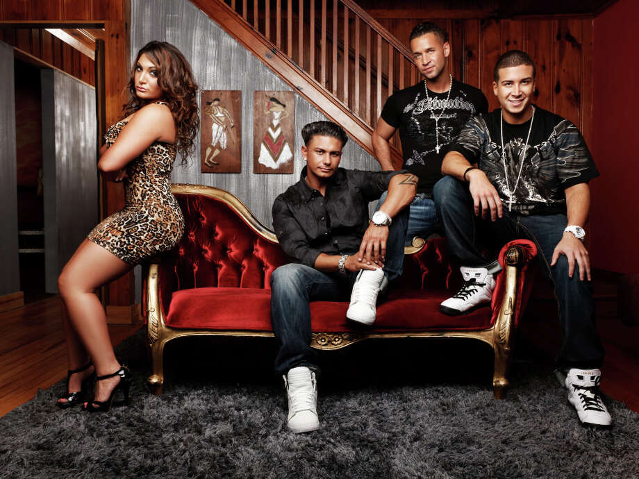 "Cast members from MTV's, ""Jersey Shore,"" include Sammi, left, Pauly D, Mike ""The Situation,"" and Vinny. Photo: MTV / SFC"