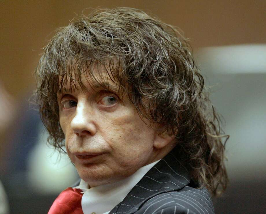 Phil Spector -- record producer/murderer. Nominated by Xoot. Photo: Nick Ut, AP