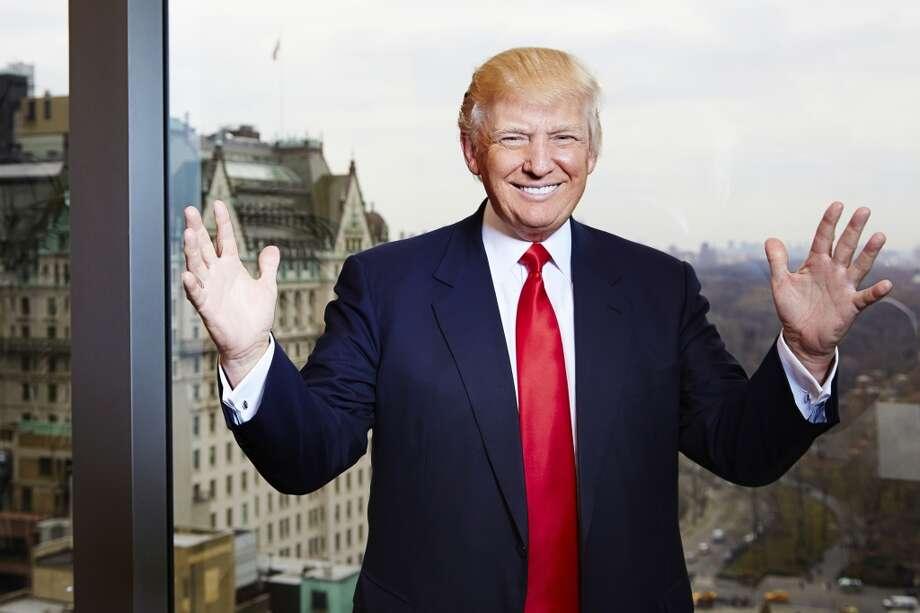 Donald Trump, nominated by Joe Marsh and others. Photo: Dan Hallman, Associated Press