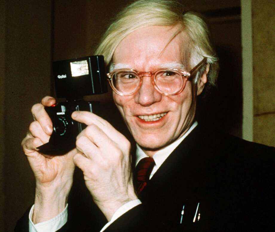 Andy Warhol -- several nominations. Photo: RICHARD DREW, Associated Press