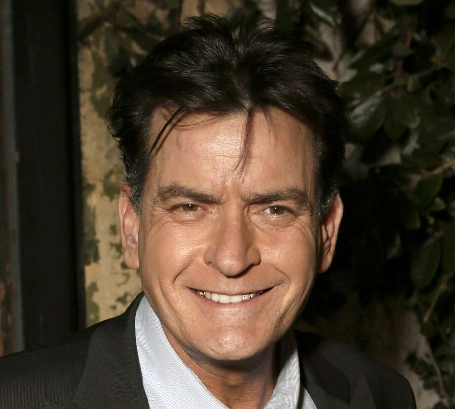 Charlie Sheen . . . interesting choice. Photo: Todd Williamson, Associated Press