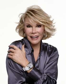 Joan Rivers.  The plastic surgery might be a bit offputting, but this is the greatest woman comedian in history. She's still funny right now, and her old material remains funny today.  She's not repellent.  She's a national treasure.  If she were English she'd be Dame Joan Rivers by now. Photo: Charles William Bush, Magic Theatre
