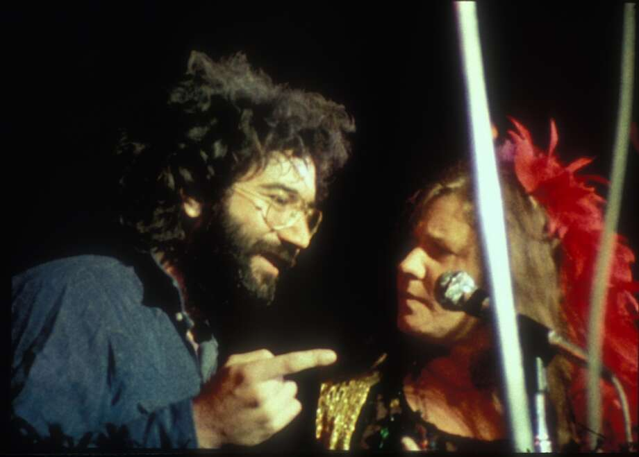 Saw the Grateful Dead or Janis Joplin at the Straight Theater, formerly the Haight Theater at Haight and Cole. (Shown are Jerry Garcia and Joplin in a still from the documentary film 'Festival Express') Photo: Courtesy, Apollo Films