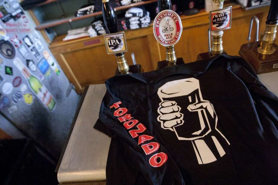 Never wash your beer-stained Toronado t-shirt. Photo: Douglas Zimmerman