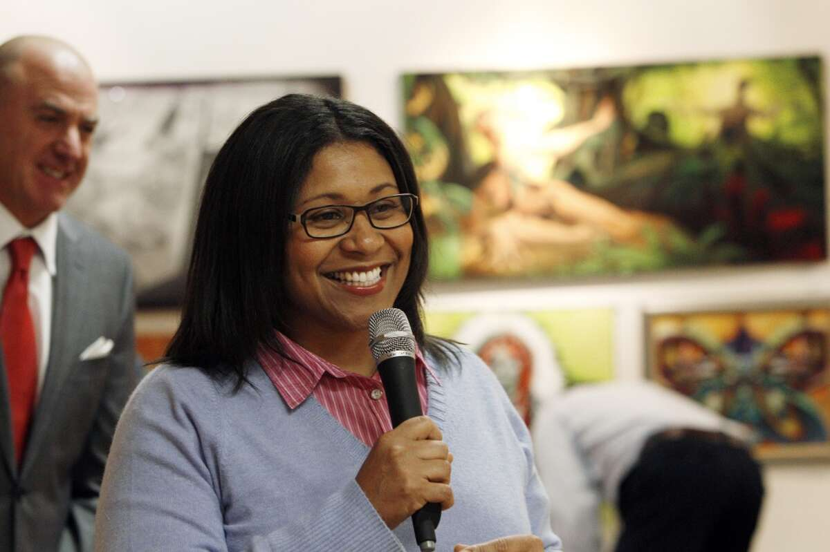 Supervisor London Breed sponsored a resolution declaring Tuesday