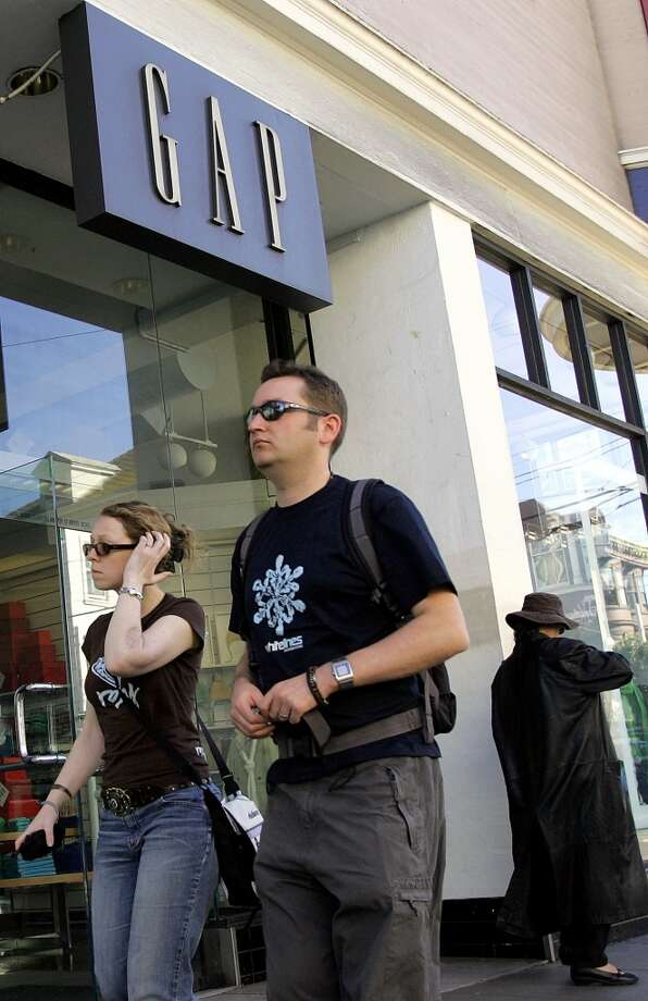 Thought it a sign of the apocalypse when a Gap store moved in at the corner of Haight and Ashbury (it's now an RVCA). Photo: Jeff Chiu, AP